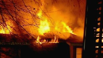 Fire Burns Greer Apartment Complex