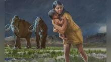 Descubrimiento: huellas humanas milenarias revelan una historia de amor maternal