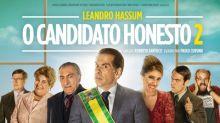 Leandro Hassum zoa Trump, Temer, Dilma e Lula em trailer de 'O Candidato Honesto 2'