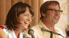 First Look: Steve Carell And Emma Stone As Billie Jean King And Bobby Riggs