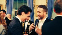 Ryan Reynolds Answers Justin Trudeau's Call To Spread COVID-19 Awareness