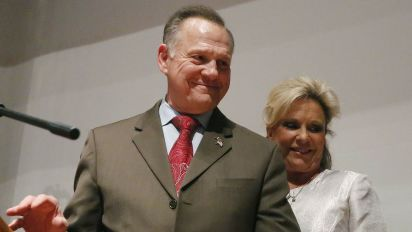 Roy Moore announces he'll run for Senate again