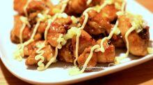 【食譜】日式沙律照燒雞、芝士焗三文魚沙律通粉
