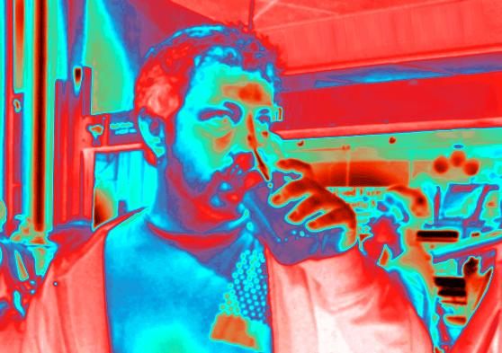 Scientists develop pair of algorithms that could enable thermal cameras to pick out drunk people