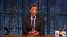 'He is not a president': Seth Meyers's statement on Trump's response to Charlottesville