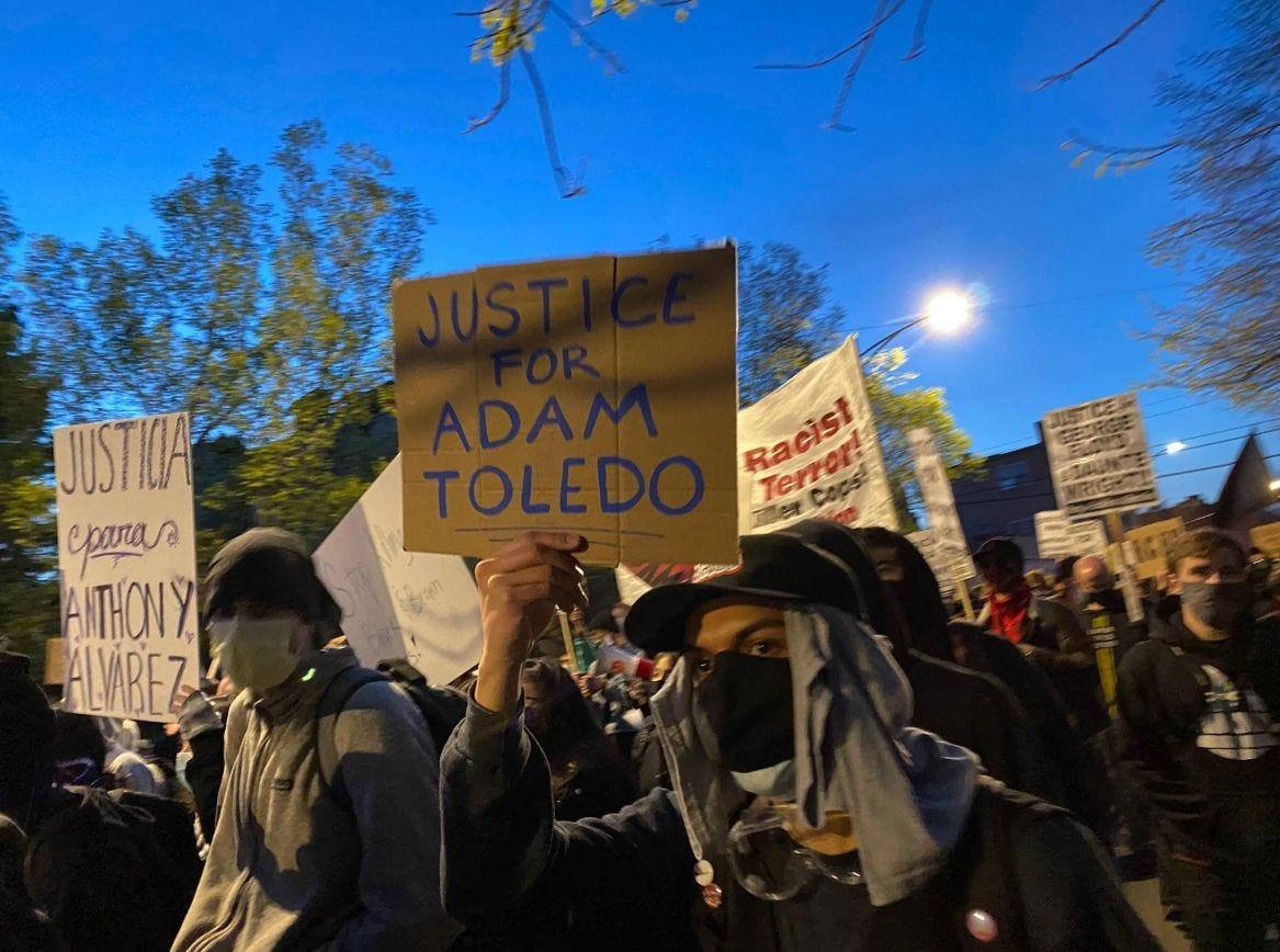 Hundreds in Chicago rally to remember boy shot by police
