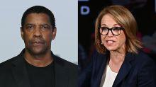 Katie Couric recalls 'uncomfortable' Denzel Washington interview that left her 'shaken'