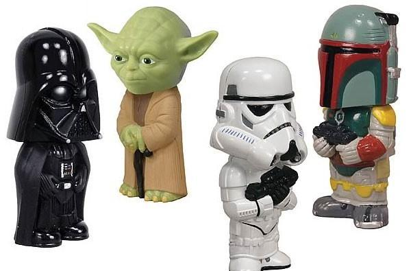 Star Wars flash drives' giant heads seep into our teensy hearts