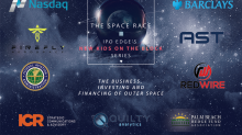 "IPO Edge, Nasdaq, Barclays to Host Jan. 26 Event: ""The Space Race"" Featuring FAA, CEOs, Advisors"