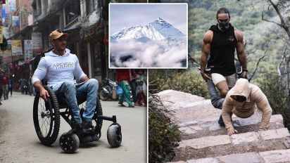 Aussie man aims to be first paraplegic to reach Everest unaided