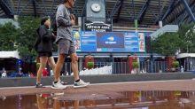 US Open - La pluie stoppe définitivement la journée à l'US Open