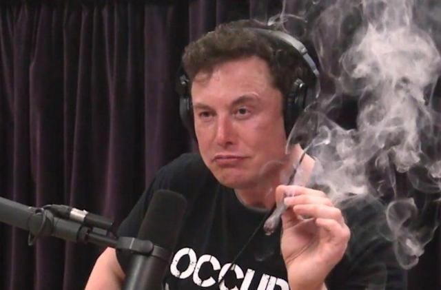 Elon Musk's toke could cost him his Pentagon security clearance