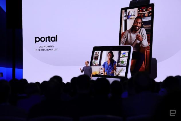 Facebook Portal will be available outside the US this fall (updated)