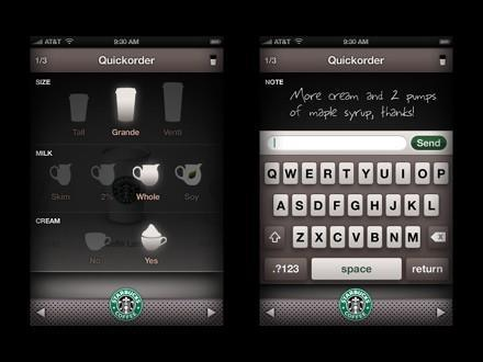 Quickorder app would keep iPod touch owners hooked on Starbucks