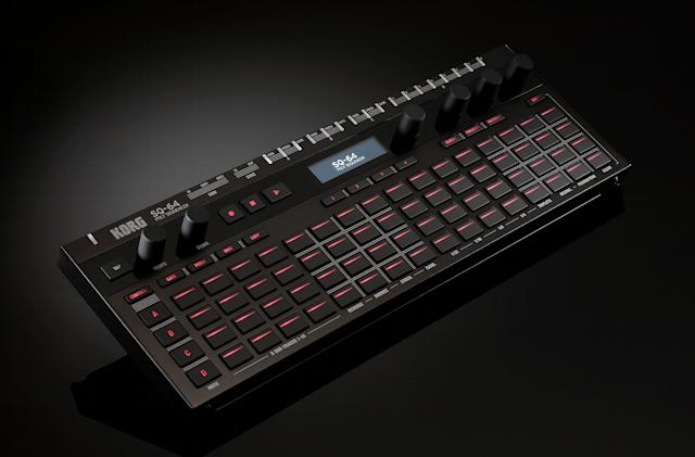 Korg goes for the sequencing crown with the modular-friendly SQ-64