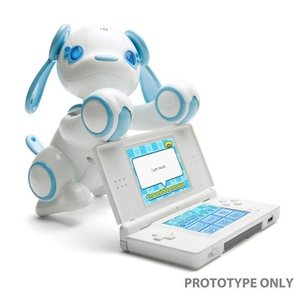 Activision and Sega show off Wappy Dog dogbot / Nintendo DS game at Toy Fair 2011