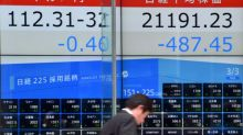 Tokyo's Nikkei share average opens down 1.08 percent