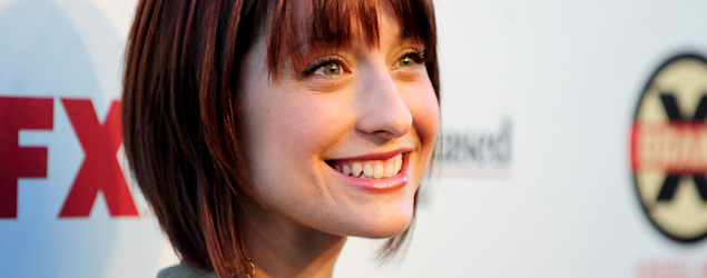 'Smallville' actress Allison Mack arrested, charged in sex-trafficking case. (Reuters)