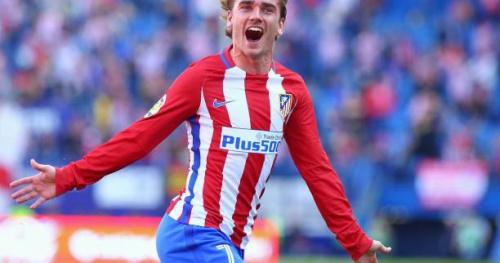 Foot - ESP - Atlético - Antoine Griezmann joueur du mois de mars en Liga