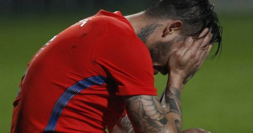 Foot - ITA - Genoa - Mauricio Pinilla (Genoa) suspendu cinq matches pour son attitude envers un arbitre