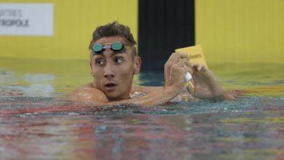 JO - Natation (H) - Jordan Pothain annonce son départ de Nice