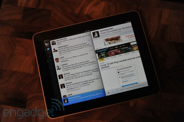 Twitter for iPad review