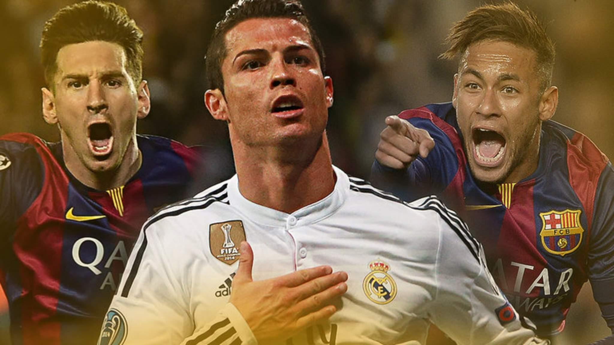 Three Players Chasing 2015 Ballon D'Or