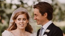 "Princess Beatrice says wearing the Queen's dress on wedding day ""was an honour"""