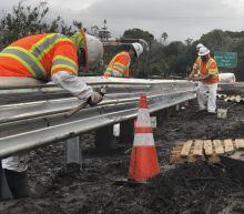 California Highway Damaged by Mudslides Reopens
