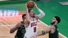 Vucevic scores 29, Bulls snap Celtics' 6-game streak, 102-96