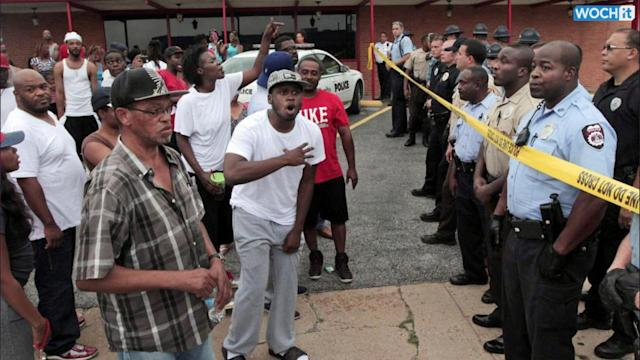 Protesters Rally After Black Teen's Shooting