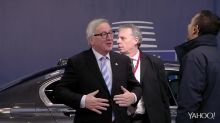 VIDEO: Juncker's patronising treatment of a top female EU official was just banter, says spokesman