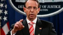 Rosenstein says Mueller investigation is 'appropriate and independent': report