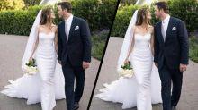 See Katherine Schwarzenegger's elegant Armani wedding gown