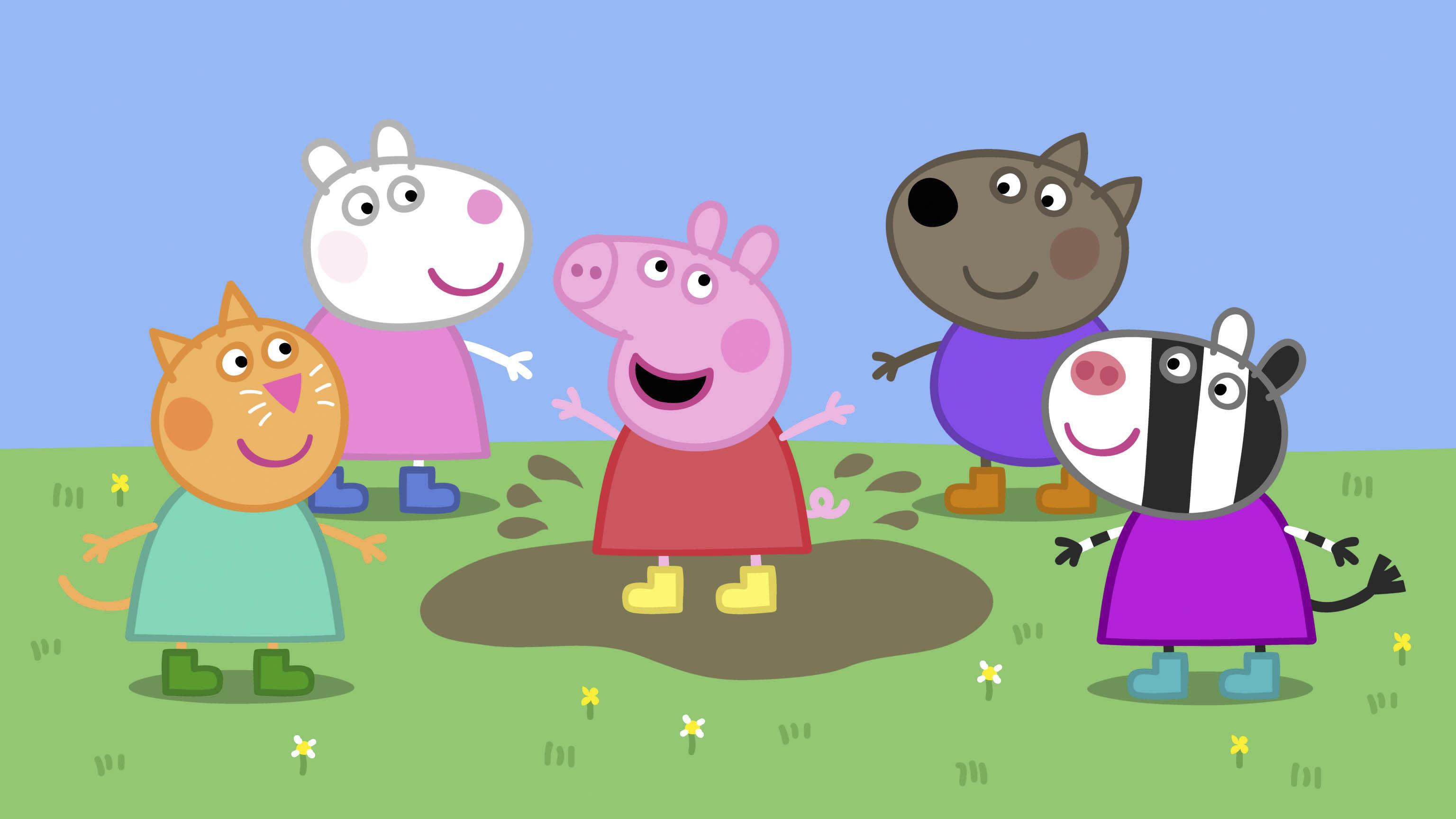 Картинки свинка пеппа и ее друзья фото