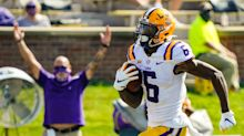 Varying Opinions on Where LSU Football's Terrace Marshall Could Land in 2021 NFL Draft