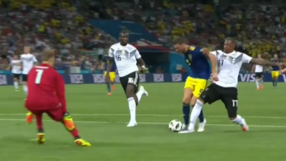 Were Sweden robbed of a 'clear penalty?'