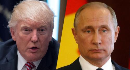 President Trump and Russian President Vladimir Putin.