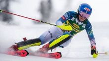 Mikaela Shiffrin wins World Cup slalom, rallying past Petra Vlhova