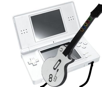 DS version of Guitar Hero III to feature a guitar controller?