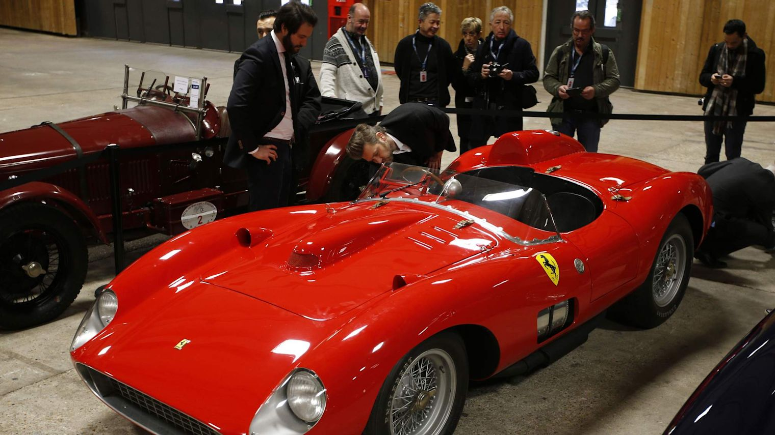 'Iconic' Red Ferrari Sells For Over £24m