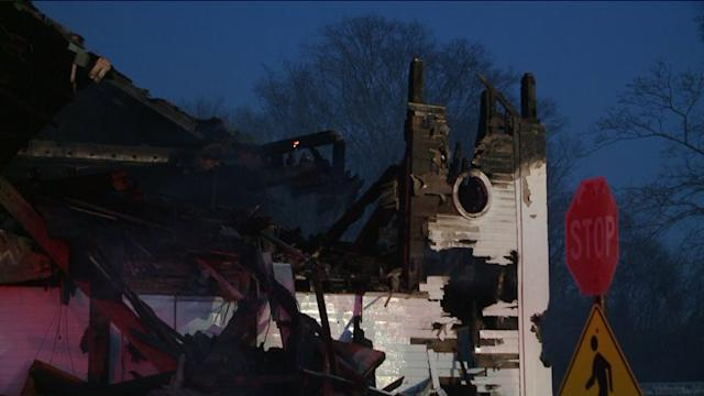 Fire Severely Damages Pomfret Church
