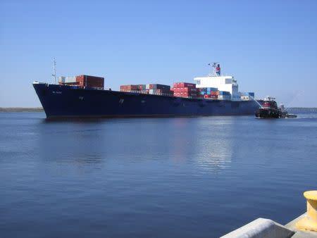 Handout of the cargo ship El Faro in Jacksonville
