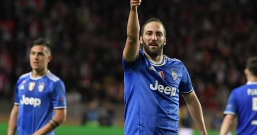 Foot - C1 - Gonzalo Higuain, buteur quatre ans après en phase à élimination directe de Ligue des champions