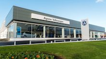 Spot the difference: Volkswagen dealer has £2m refit with new logo
