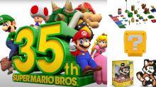 Super Mario Bros. faz 35 anos com novidades; veja itens do personagem