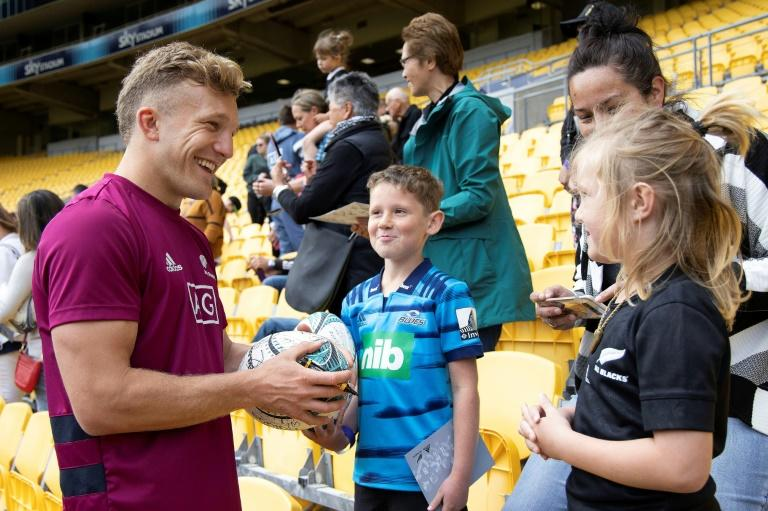 All Blacks fullback Damian McKenzie was a late addition after Beauden Barrett was ruled out injured