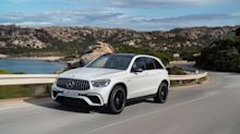 View Photos of the Refreshed 2020 Mercedes-AMG GLC63 SUV and Coupe
