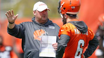 Baker's impressions include the new coach