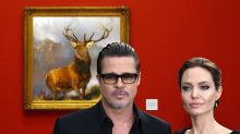 Brad and Angelina 'at war' over painting